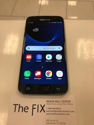 Factory Unlocked Samsung S7 Blue 32GB!!!! for Sale in Prospect, CT