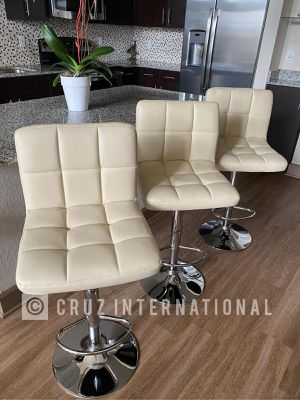 New 3 beige stools for Sale in Orlando, FL