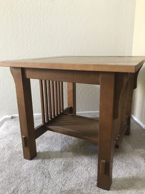 FREE- wooden square end table for Sale in Martinez, CA