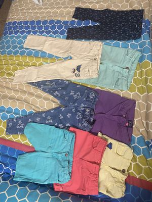 4-5 year girl kid pants & shorts for Sale in Hopkins, MN