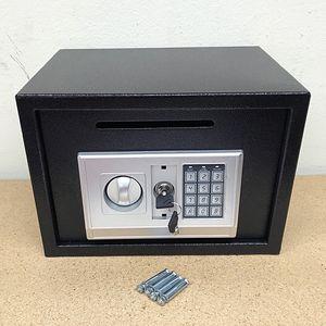 "Brand New $55 Depository 14""x10""x10"" Digital Security Safe Box Electric Keypad Lock w/ Master Key for Sale in Pico Rivera, CA"