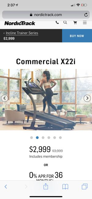 NordicTrack X22i incline treadmill for Sale in Vancouver, WA