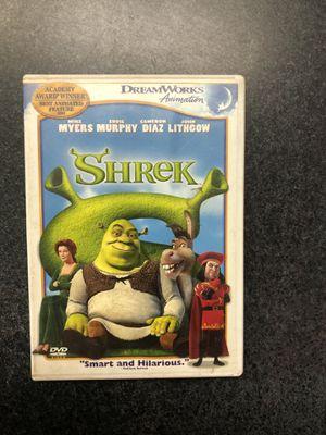 Shrek DVD - great shape for Sale in Preston, CT