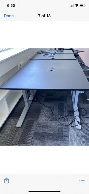 Adjustable standing/sitting desk for Sale in San Mateo, CA