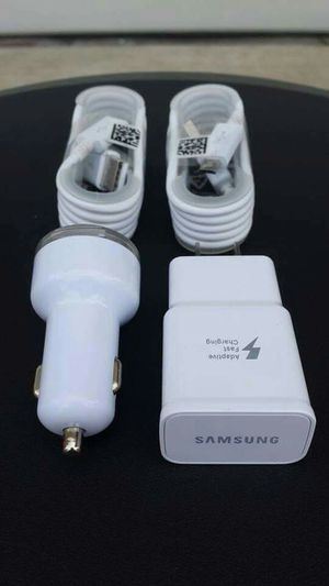 Samsung Combo/Brand New Original Samsung Fast Charger and Car Charger for Sale in Lincoln Acres, CA