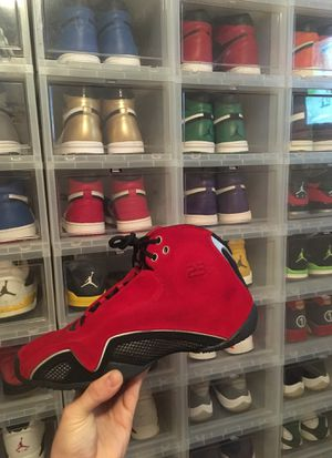 Jordans 21 red suede size 11.5 for Sale in DW GDNS, TX