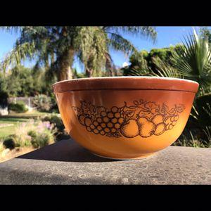 Pyrex orchard harvest bowl for Sale in Riverside, CA