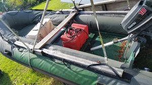 16 inflatable 18hp tohatsu and trailer for Sale in Palmetto Bay, FL