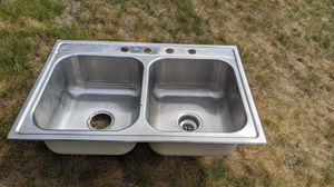 Double kitchen sink for Sale in North Billerica, MA