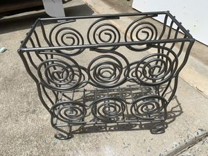Decorative magazine rack for Sale in Monroe, NC