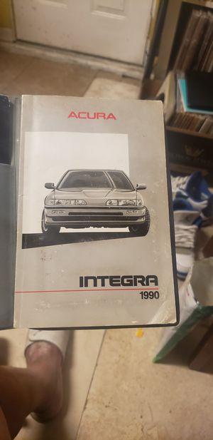 Acura manual book for Sale in Compton, CA
