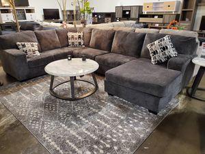 Sectional Sofa, Smoke for Sale in Garden Grove, CA