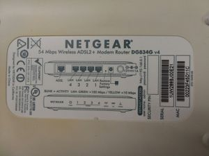 NetGear DSL modem Wi-Fi router for Sale in Columbus, OH
