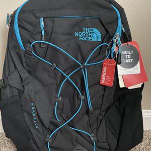 The North Face Borealis Backpack Black/Teal for Sale in Atlanta, GA