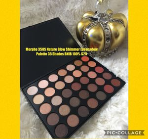 Morphe 350S Nature Glow Shimmer Eyeshadow Palette 35 Shades 😍BNIB 100% ready for pickup in southgate 😁 for Sale in Lynwood, CA