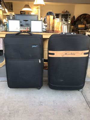 "Black suitcases (30"" tall) for Sale in Las Vegas, NV"