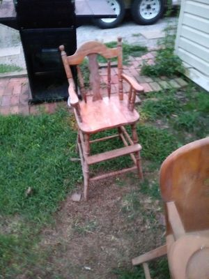 Antique high chair for Sale in Roebuck, SC