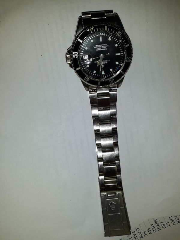 Rolex Submariner watch great condition