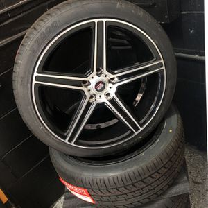 18 Inch Spec 1 Wheels And Tires for Sale in St. Petersburg, FL