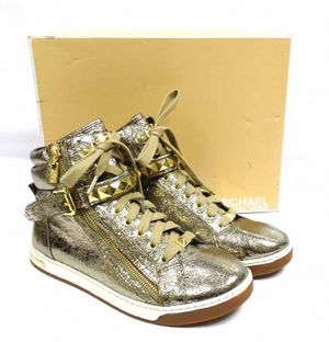 Michael Kors Bling Gold Shoes 10 for Sale in Saint Robert, MO