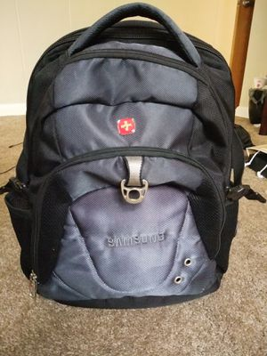 Samsung Swiss army backpack for Sale in Green Bay, WI