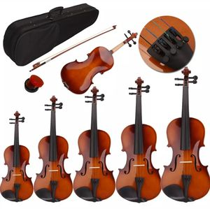 Brand New Natural Violin All Sizes for Boys and Girls all Ages comes with Case +Bow and Rosin for Sale in Columbia, MD