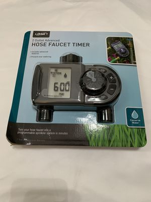 Orbit 2-Outlet Hose Faucet Timer for Sale in San Lorenzo, CA