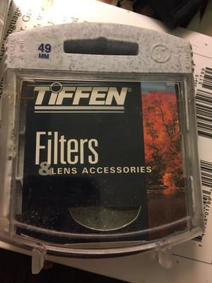 TIFFEN 49mm filter yellow for Sale in Lake Elsinore, CA