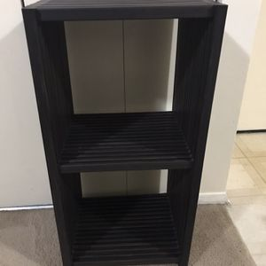 """Available Contemporary Brown Wood Stand/side Table 33""""h 16""""top Pick Up Gaithersburg Md20877 for Sale in Gaithersburg, MD"""