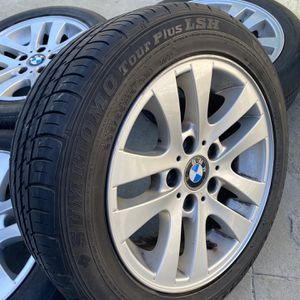 Bmw Rims And Tires 5x120 for Sale in East Los Angeles, CA