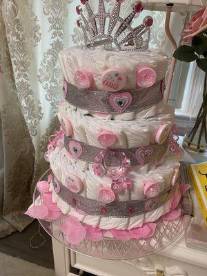 Super cute Diaper cake for Sale in Marietta, GA