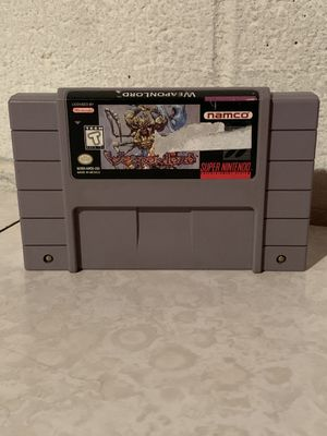 WeaponLord Super Nintendo SNES Authentic Cartridge Only for Sale in Euclid, OH