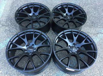 Dodge charger challenger hellcat scatpack wheels rims tires 14 15 16 17 18 19 20 21 22 24 26 28 30 35 40 50 55 45 65 60 70 75 80 85 155 165 175 185 1 for Sale in Warren,  MI