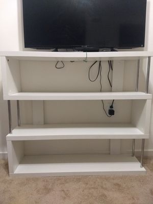 Book self/ TV table 44 inch, 37 inch , 12 inch for Sale in Gaithersburg, MD