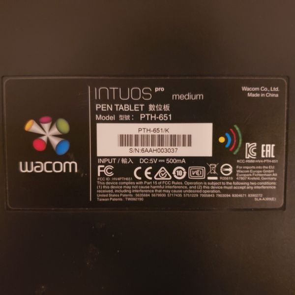 Intuos wacom pro medium