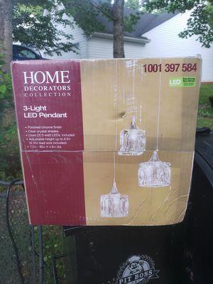 New sealed led lights pendant / chandelier for Sale in Sugar Hill, GA