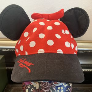 Disney Parks Minnie Mouse Hat with Ears and Bow for Sale in Beaverton, OR