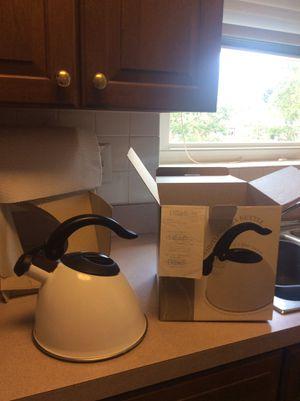 Whistling Tea Kettle from Dillard's, Brand New for Sale in Arlington, VA