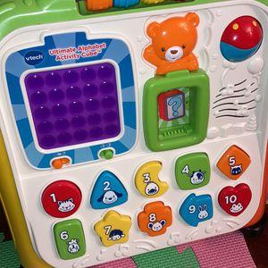 Vtech Ultimate Alphabet Activity Cube for Sale in Wichita, KS