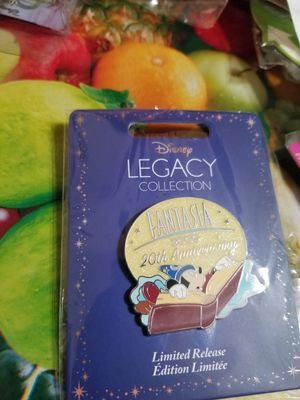 Fantasia 2000 20th Anniversary Sorcerer Mickey Disney LR Legacy Collection Pin for Sale in Houston, TX