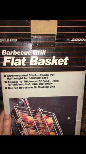 BBQ Grill Flat Basket - brand new in box for Sale in Renton, WA