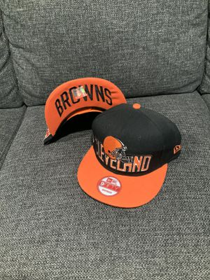 Cleveland Browns SnapBack 🏈 for Sale in Fontana, CA