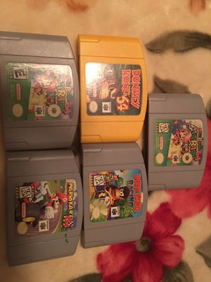 5 game Nintendo 64. for Sale in La Mirada, CA