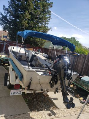 16ft Aluminum Sea nymph boat for Sale in Livermore, CA