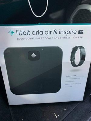 Fitbit Tracker and Bluetooth Scale Combo for Sale in Bryan, TX