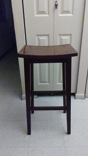 Wooden bar stool for Sale in Philadelphia, PA