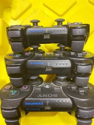 Sony ps3 controllers all 3 for Sale in Worth, IL