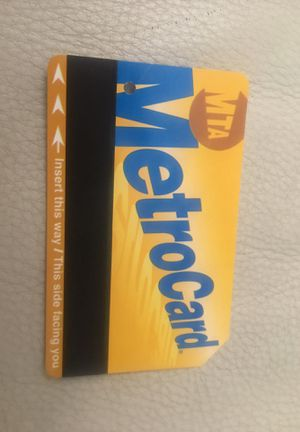 Metro card 50% off from City Expires Feb 2021 for Sale in Brooklyn, NY