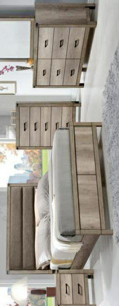 🍃the price is nice🍃Matteo Light Brown Panel Bedroom Set for Sale in Jessup, MD