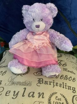 Build a Bear Carly Purple Bear for Sale in Barrington,  RI